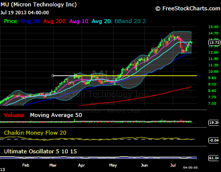 Micron Technology options trading