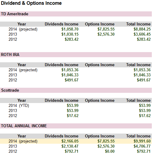 Dividend & Options Income