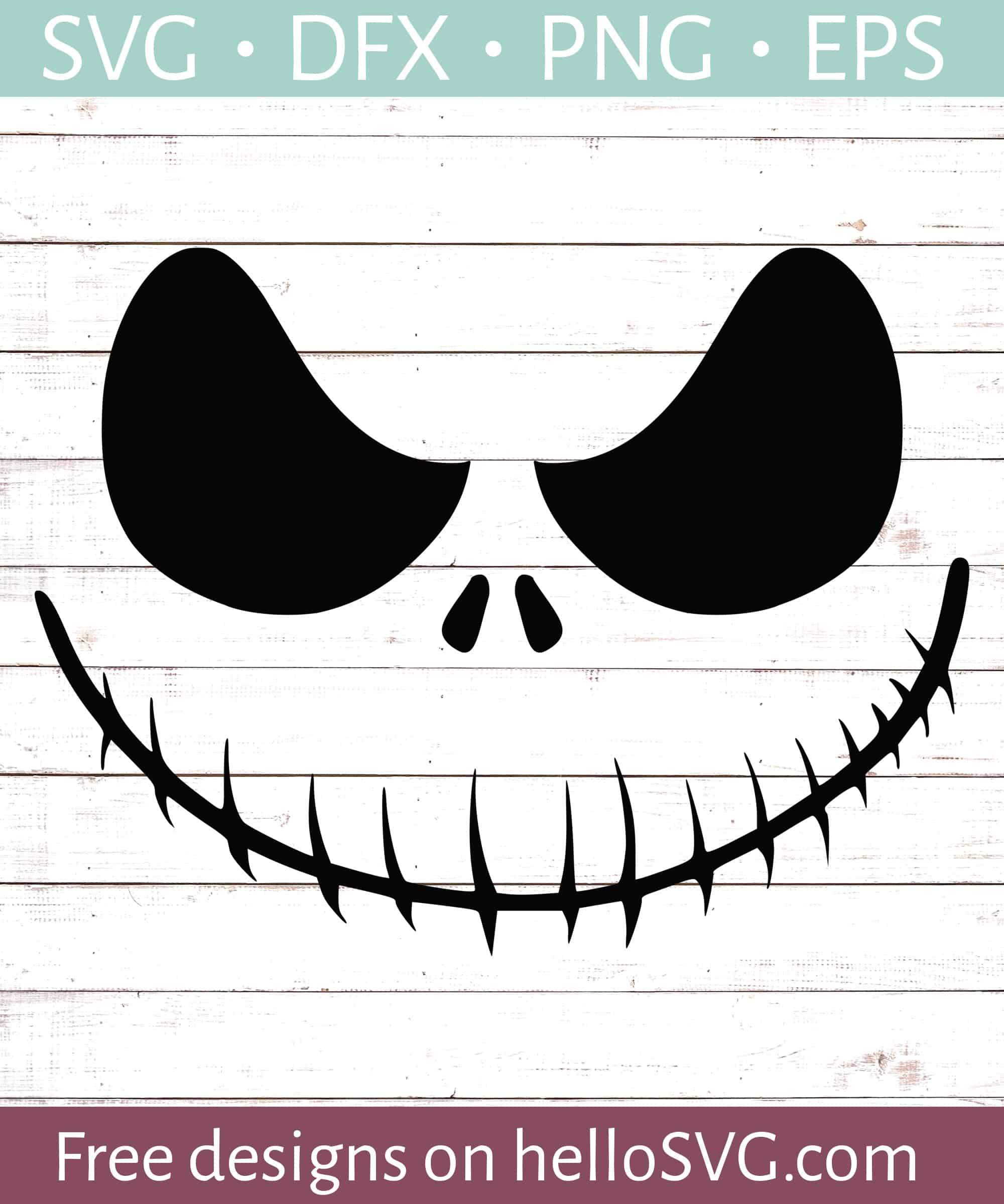 Nightmare Ghoul Smiling Svg Free Svg Files Hellosvg Com