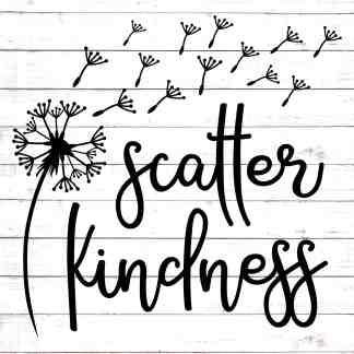Scatter Kindness Dandelion