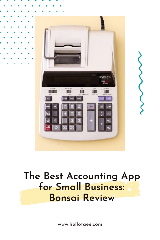 Wondering what the best accounting app for your small business is? Here's my Bonsai review, it's my absolute favourite!