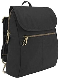Travelon: Anti-Theft Signature Nylon Slim Backpack