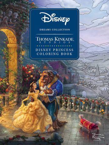 Thomas Kinkade Disney Princess Dreams Coloring Book