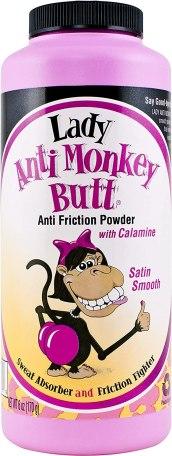 Lady anti monkey butt