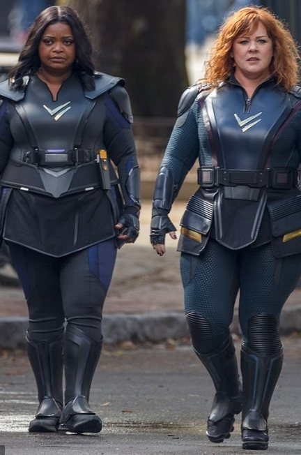 Octavia Spencer and Melissa McCarthy in Thunder Force