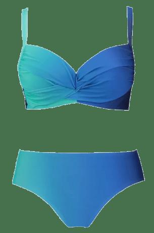 Ombre Underwire Bikini Set