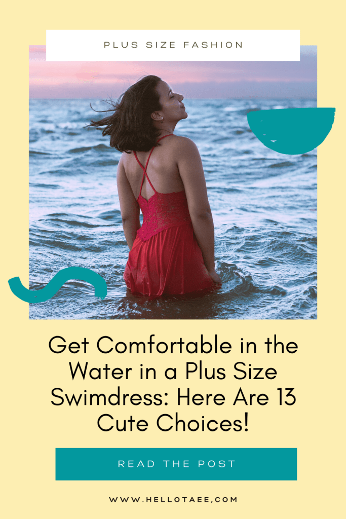 Looking for a super cute plus size swimdress? I've picked out 13 adorable choices that will make you feel chic and comfortable in the water!