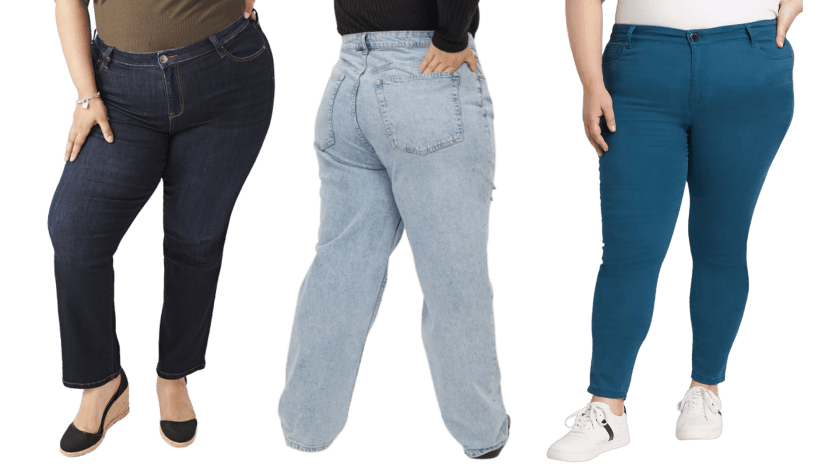Jeans are the perfect companion for plus size puffer vests if you're looking for a cool, casual outfit.