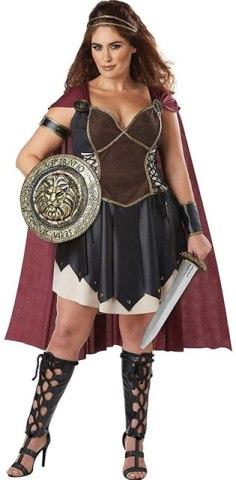 Plus Size Gladiator Costume | 1X-3X