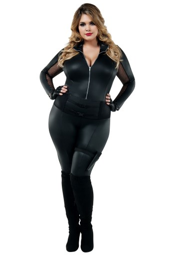 Women's secret agent costume