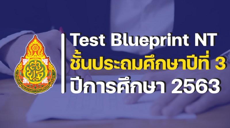 Test Blueprint NT ป.3