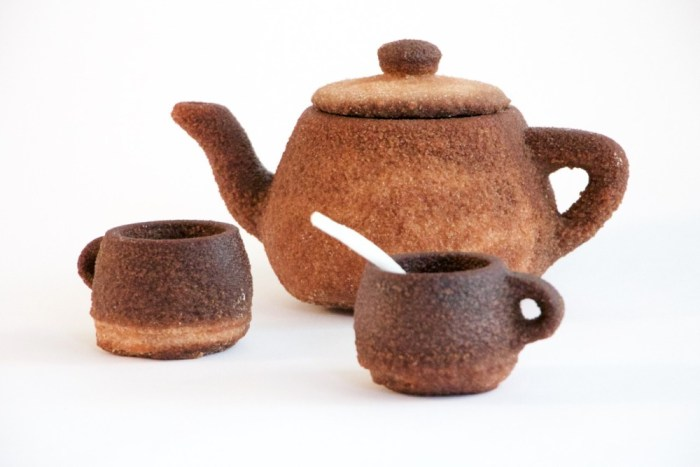 A 3D Printed Teapot Out Of Tea?