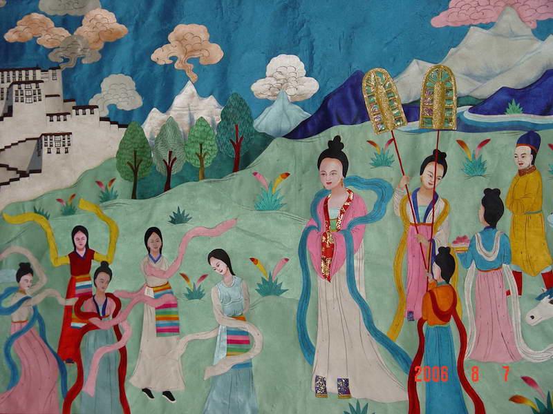 princess wen cheng tibet tang