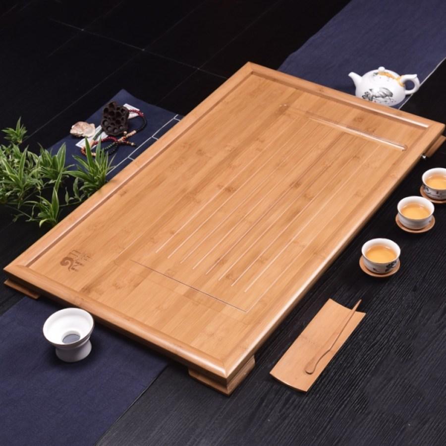 Single-layer tea tray