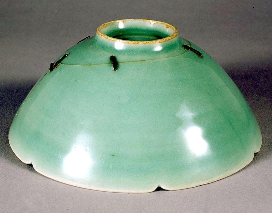 Leech Nail Tie - the Longquan Kiln Celadon Tea Bowl