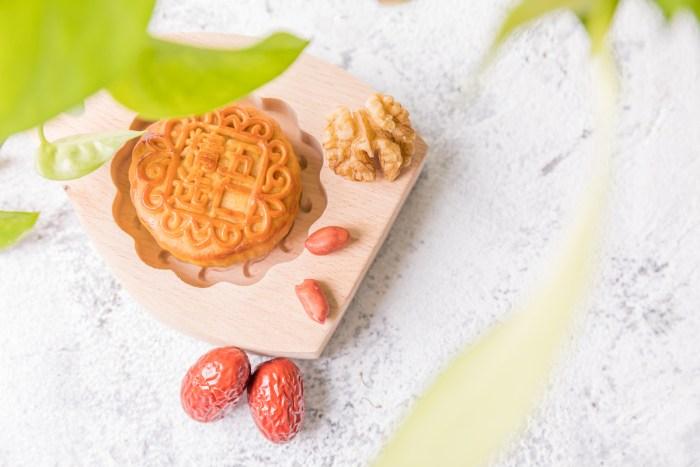 beijing style moon cake jujube