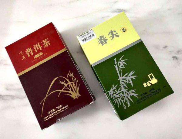 2016 xiaguan loose leaf pu erh tea review spring tips first grade