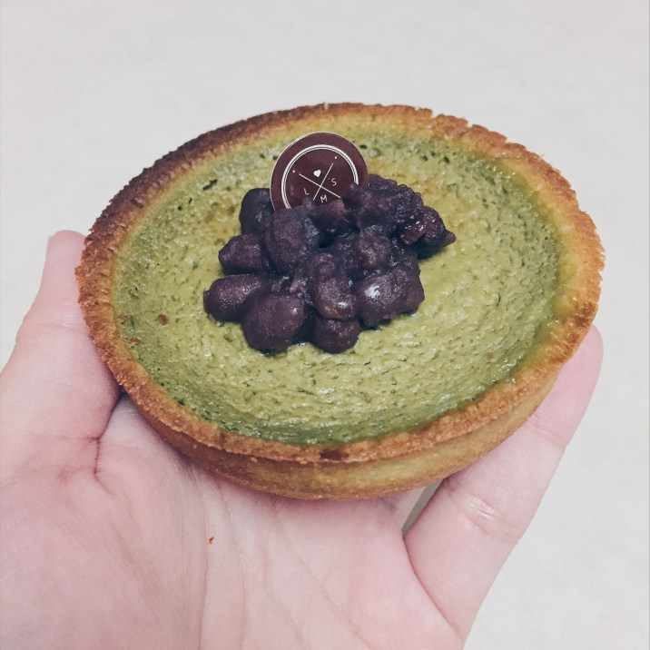Matcha with Red Bean