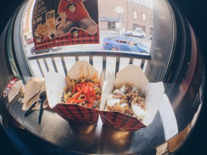 Smoke's Poutinerie - Philly Cheesesteak and Perogy Poutine - HELLOTERI