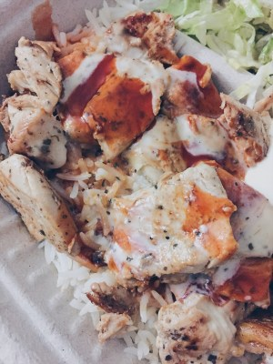 Toronto, Canada - Pita Land - Chicken Souvlaki Plate - helloteri