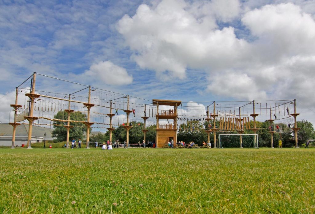 Kinderactiviteit Klimpark klimmenenzo Texel