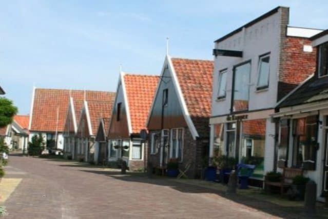 Dorp Oosterend Texel