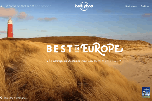 Lonely planet Texel