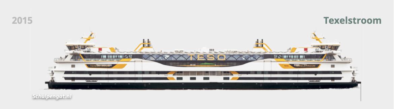 Veerboot Texelstroom TESO Texel