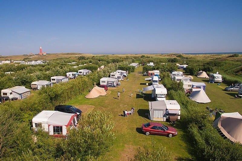 Campings op Texel
