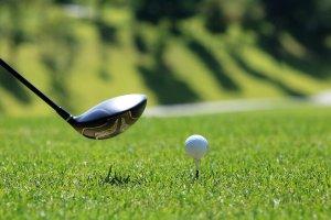 golf, golf course, grass