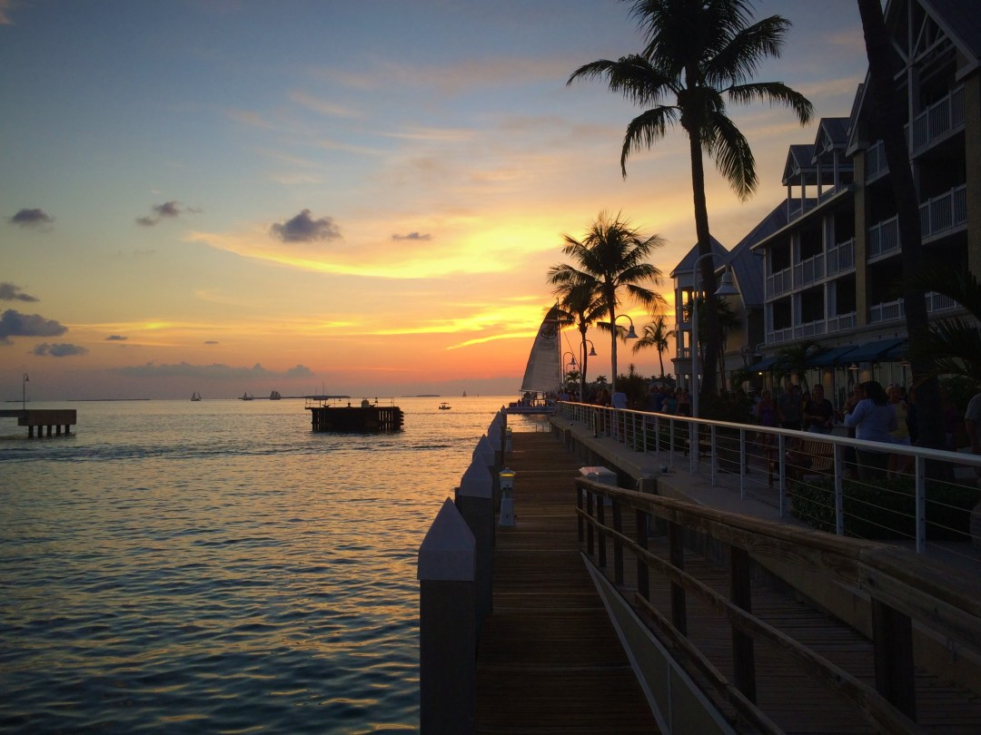 Mallory Square at sunset. Photo by Sarah Guiler