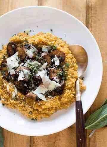 Pumpkin Quinoa Risotta | HelloGlow.co