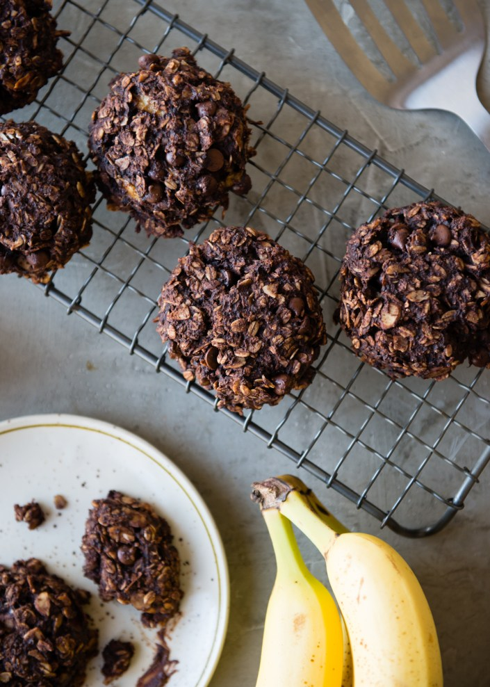 Almond Chocolate Chunk Coconut Breakfast Cookies