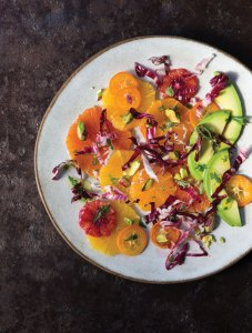 Citrus and Avocado with Lime-Cumin Vinaigrette