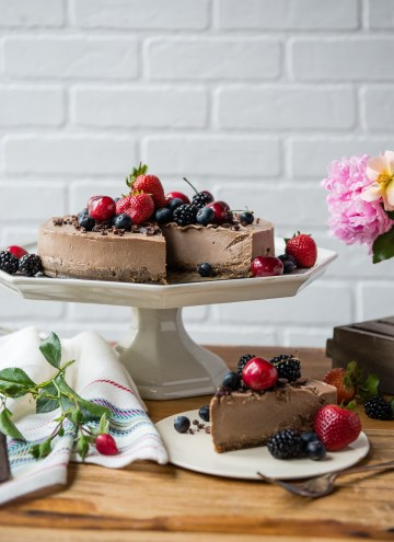 You'll Never Believe This Cheesecake is Completely Dairy-Free