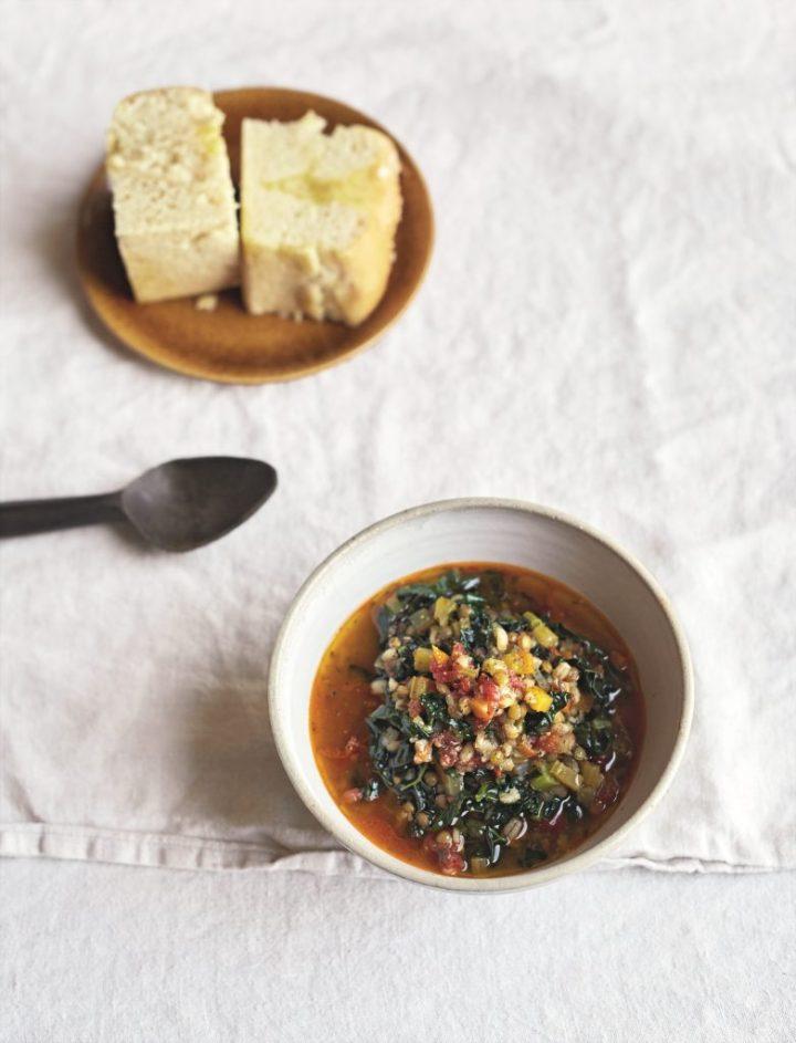 Tuscan Lentil & Grain Broth from Plants Taste Better