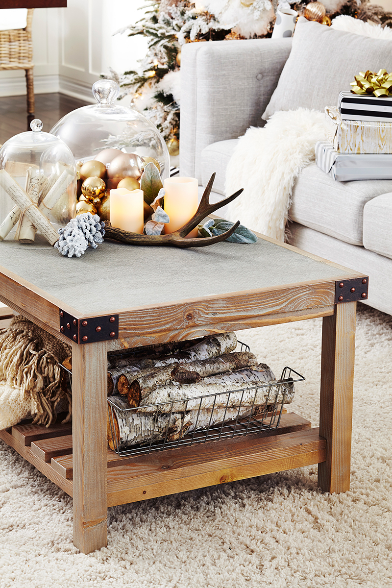 #leonshelloholiday, coffee table, styling, holiday, christmas