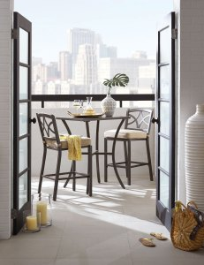 patio dining sets for a condo Davenport