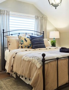 Home to Win Episode 4 guest bedroom