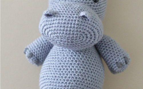 10 Cute Hippo Amigurumi Crochet Patterns Free and Paid | Crochet ... | 312x500