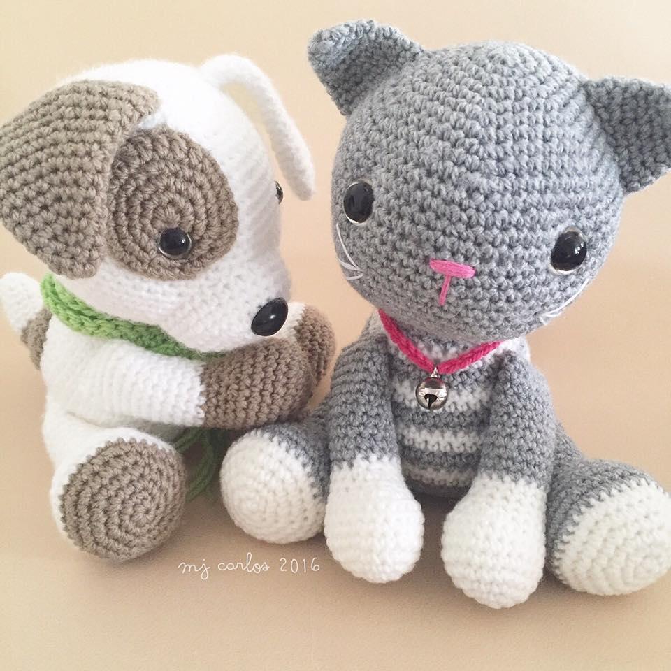 Crochet Amigurumi Cat PATTERN ONLY Abby Tabby pdf Stuffed | Etsy | 960x960