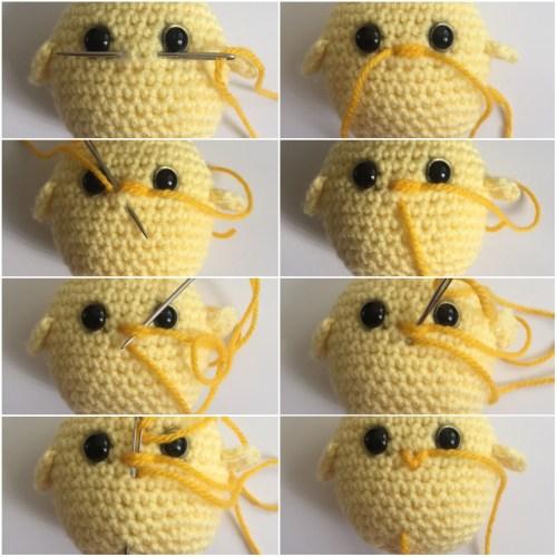 Little Chick Chick Plush Chick Keychain Amigurumi Chick | Etsy | 500x500