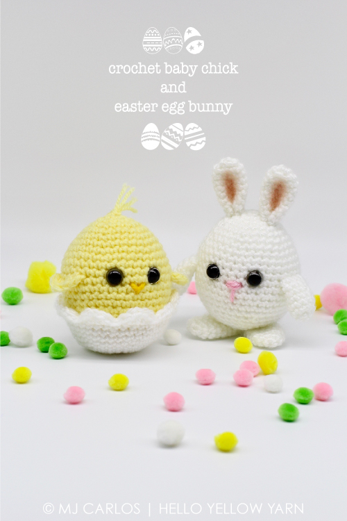 Easter Crochet Chicken Free Patterns & Instruction [Easter Decor] | 750x500