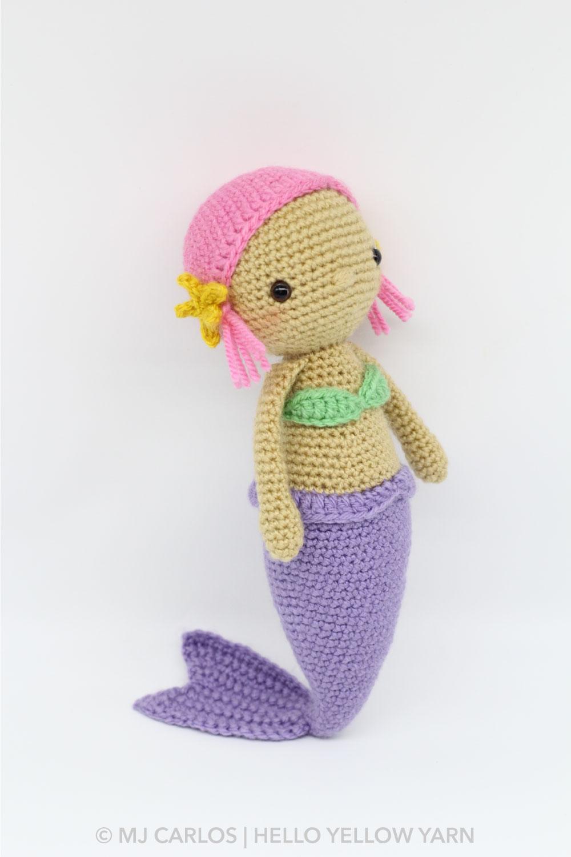 Kai the Mermaid Amigurumi Pattern