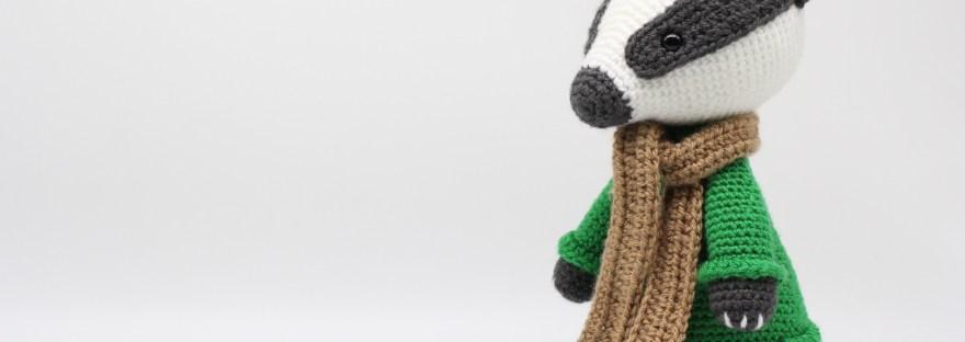 PDF Badger Crochet Pattern Barrold the Badger Crochet | Etsy | 312x880