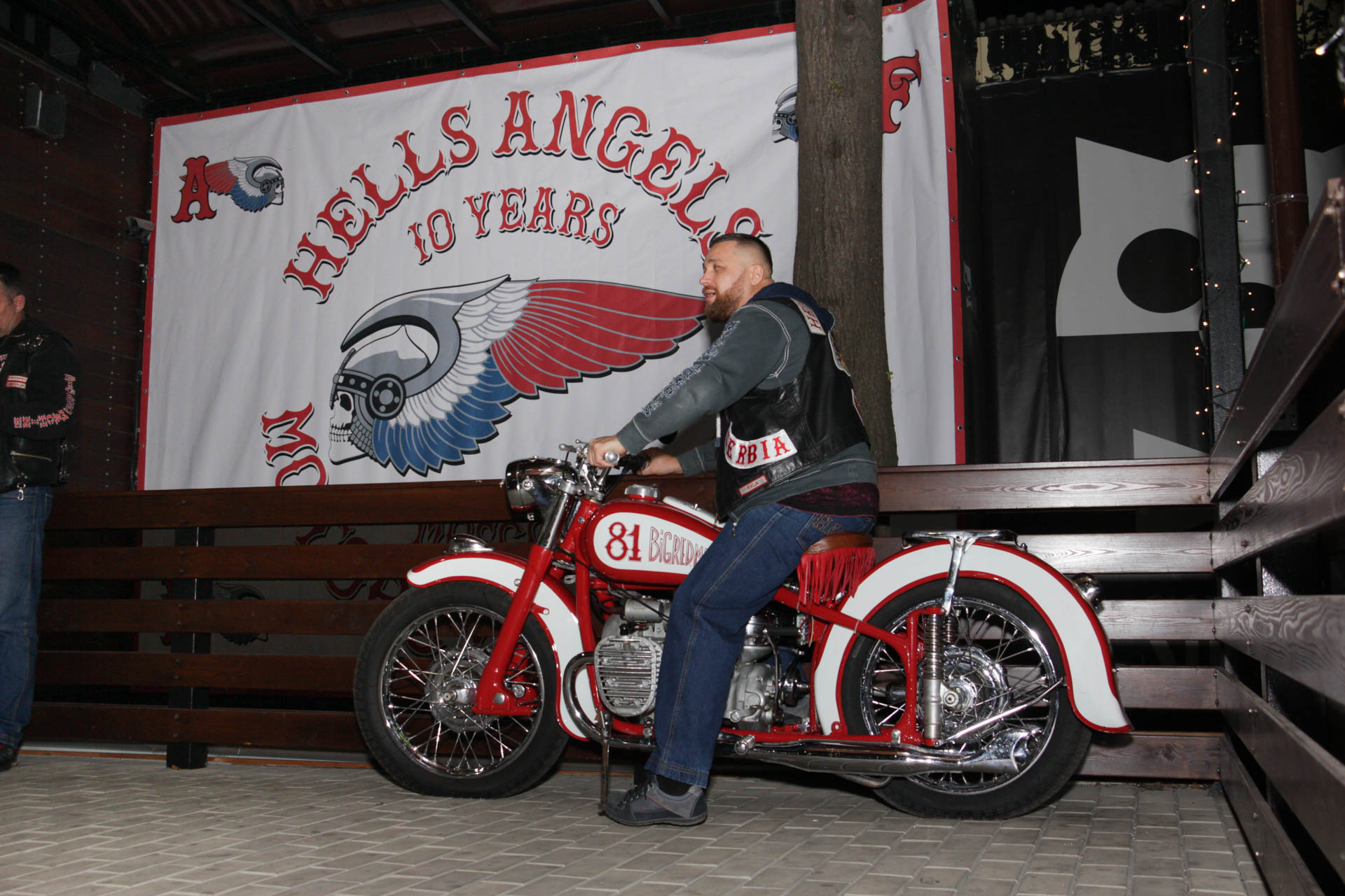 Hells Angels Moscow 10 Years Anniversary Hells Angels Mc