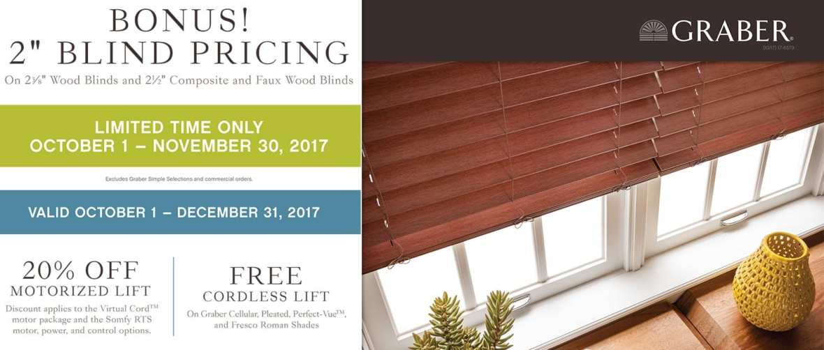 Graber Window Coverings Sale