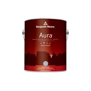 Aura by Benjamin Moore - Exterior Satin Finish - Helm Paint New ...