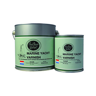 Marine Yacht Varnish Fine Paints of Europe