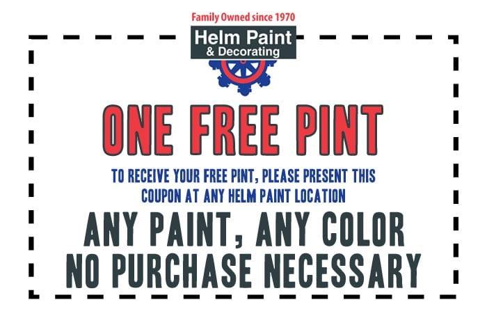 Free Pint Coupon